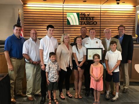 Fuller Recognized for Executive Fire Officer Program Graduation | AM