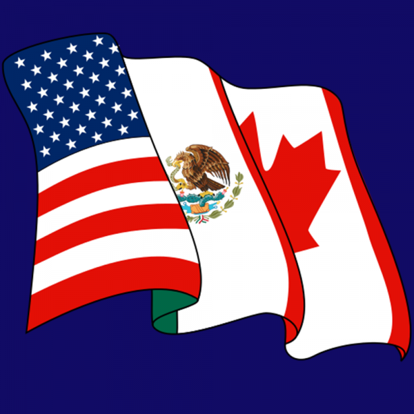 North American Free Trade Agreement Am 1100 The Flag Wzfg