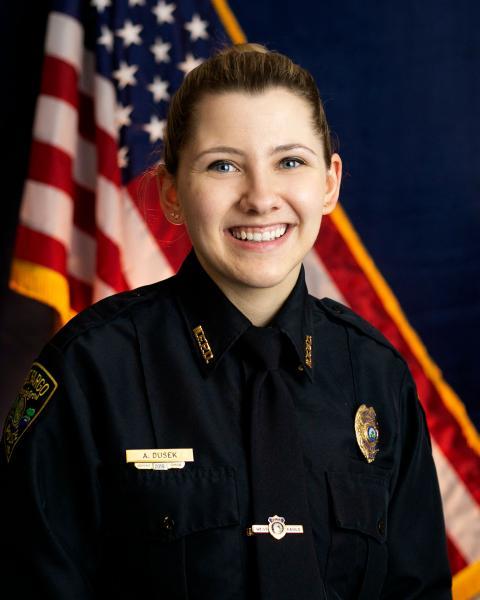 "West Fargo Police Patrol Officer Abigail ""Abby"" Dusek"